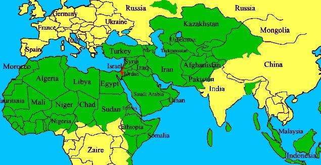Anexo: Mapa De Jerusalén de acuerdo a la Autoridad Palestina: